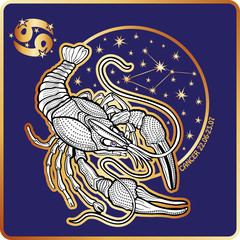 Horoscope.Cancer  zodiac sign