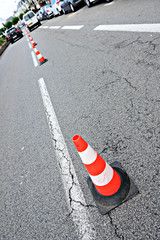 Roadwork cones