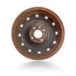 Rusty steel rim isolated - 71189754