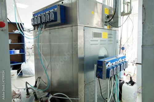 Leinwanddruck Bild Image of modern equipment in laundry room