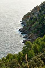 Mediterranean coast near Lavandou