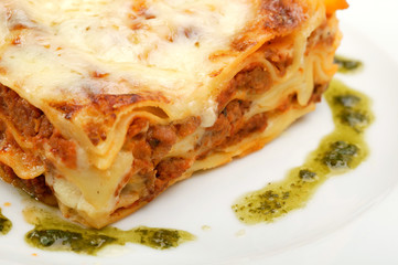 Lasagne meat