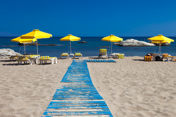 Rhodes Greece - Stegna Beach