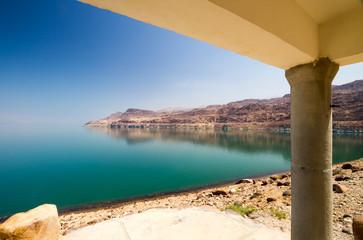 Cottage on the Dead Sea