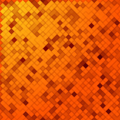 Orange Mosaik nahtlos