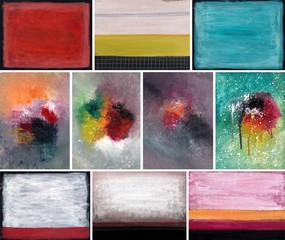 Abstract oil backgrounds