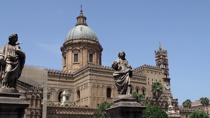 Palermo Cathedral. Sicily