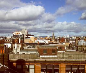 Retro look Glasgow picture