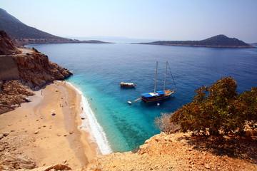 Kaputash beach,Mediterranean sea,Turkey
