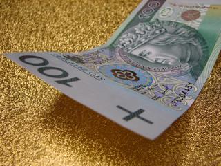 100 PLN Note - polish money