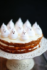 Naked Scary Carrot Cake
