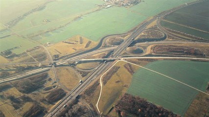 Autobahnkreuz Erfurt A71 A4 Thüringen