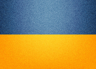Ukraine denim flag