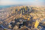 Fotoroleta Dubai skyline at dusk, Dubai.