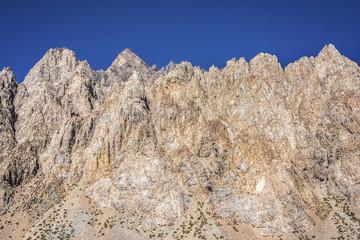 Penitentes Mountain in Mendoza, Argentina