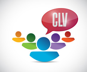 clv message illustration design