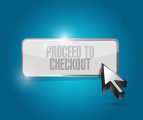 checkout button illustration