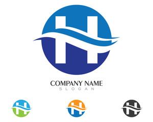 H wave Logo
