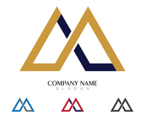 M Logo Template 1
