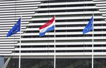 dutch and european union flag