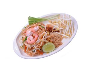 Thailand noodles with shrimp