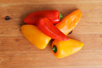 ripe peppers
