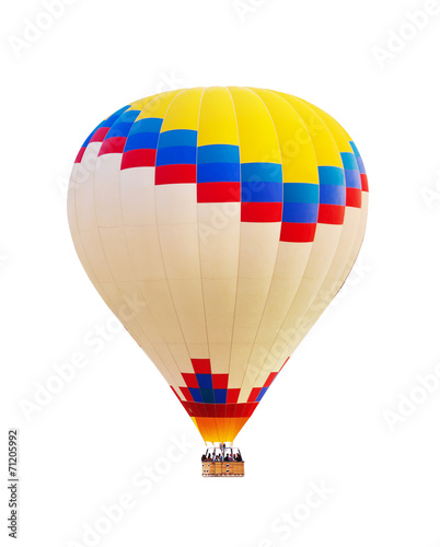 Plexiglas Ballon Hot air balloon