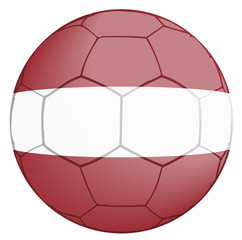 Soccer Ball Latvia