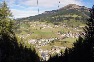 Seilbahn, Wolkenstein, Gröden, Südtirol, Italien