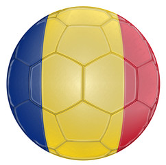 Soccer Ball Romania