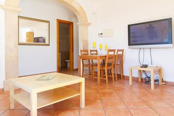 Wohnzimmer in einer spanischen Finca