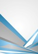 Blue and grey corporate background