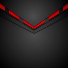 Dark modern corporate arrow design