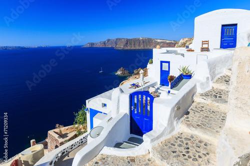 The village of Oia in Santorini, Greece - 71209334