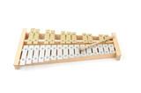 Glockenspiel isolated on white