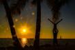 canvas print picture - Key West