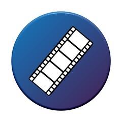 Button rund: Film
