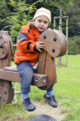 Child at playground