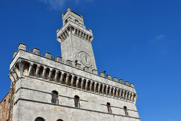 Palazzo comunale a Montepulciano, Toscana