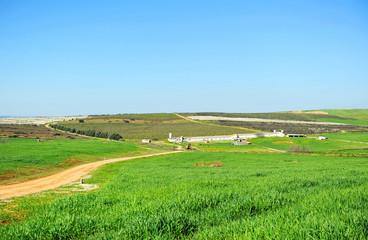 Explotación agrícola, Extremadura, España