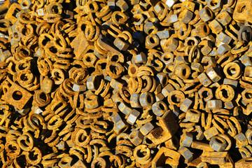 metallic parts, fasteners