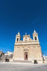 Parish church of Zebbug in Gozo, Malta
