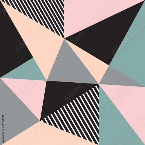 Abstract background with triangles - 71214963