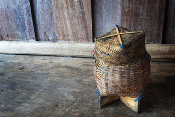 Thai bamboo sticky rice