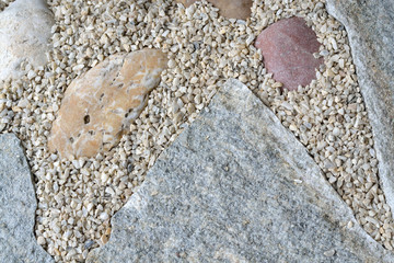 Steine und Kies - Musterung