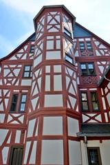 Treppenhaus Fassadenteil historischer Amthof Bad Camberg