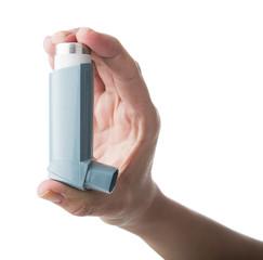 Inhaler on Hand