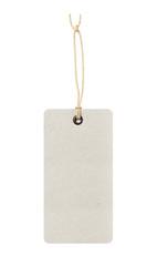 Blank paper price hanger