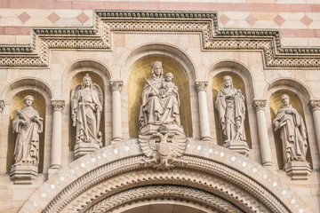 Schutzpatrone des Domes zu Speyer
