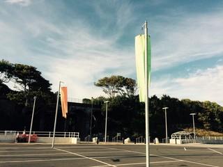 Car park at porth eirias Colwyn bay